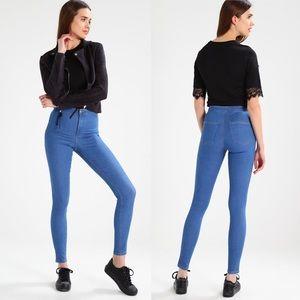 Topshop Light Blue Joni Jeans 28x28